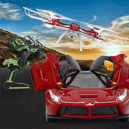 Spielfahrzeuge: Ferngesteuerte Fahrzeuge