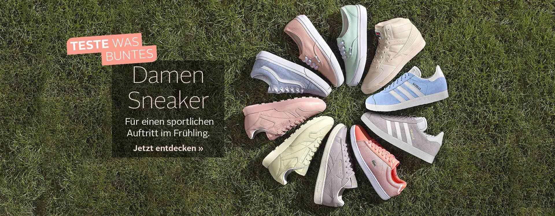Modisch im Alltag. Trendstark beim Sport. Anziehen. Loslaufen und gut ankommen. Tolle Damen Sneaker bei OTTO.