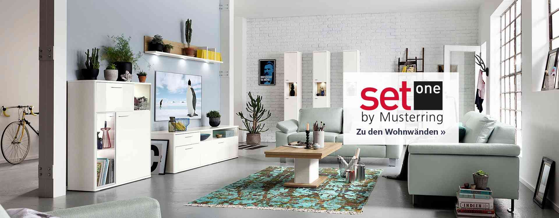 set one by musterring online shop otto. Black Bedroom Furniture Sets. Home Design Ideas