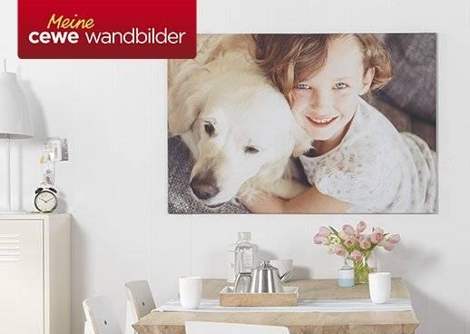 OTTO Fotoservice CEWE WANDBILDER 5€ Gutschein Juni 2017 Wunschformat