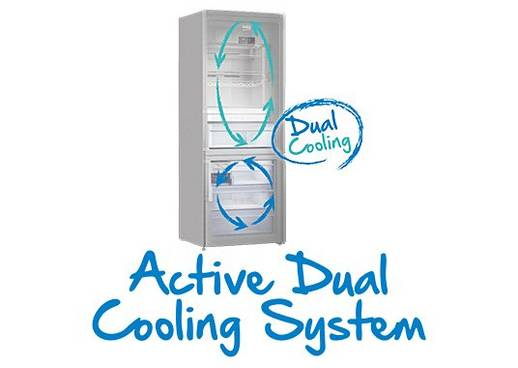 Beko Active Dual Cooling System