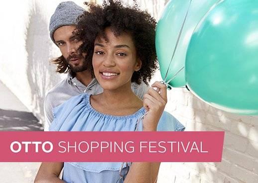 OTTO Shopping Festival Aktion Vorteile Feier den Sommer Angebote Eröffnung