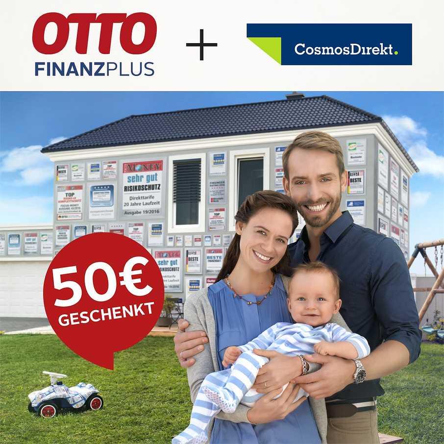 Shopping&more OTTO Finanz Plus CosmosDirekt Risikolebensversicherung