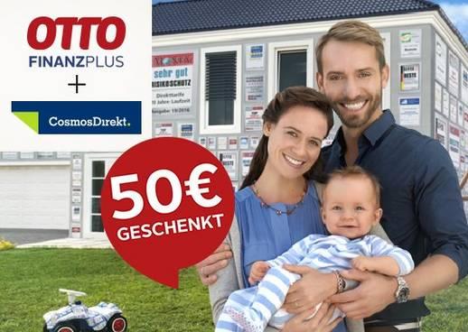 Shopping&more OTTO Finanz Plus CosmosDirekt Risikolebensversicherung 50€ OTTO Gutschein