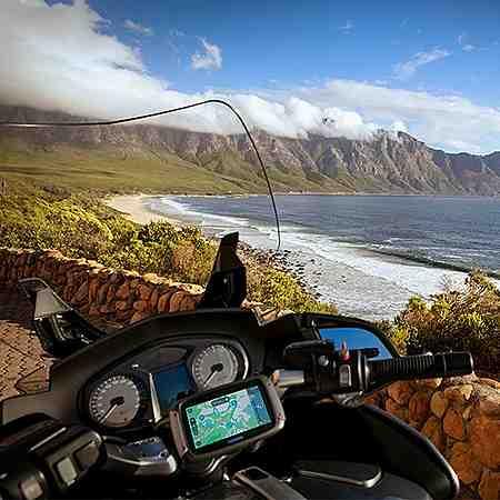 Multimedia: Navigation: mobile Navigation: Motorrad Navi