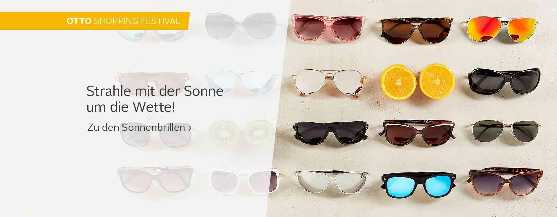 Die Sonnenbrille ist das Must-Have-Accessoire für sonnige Frühlings- und Sommertage!