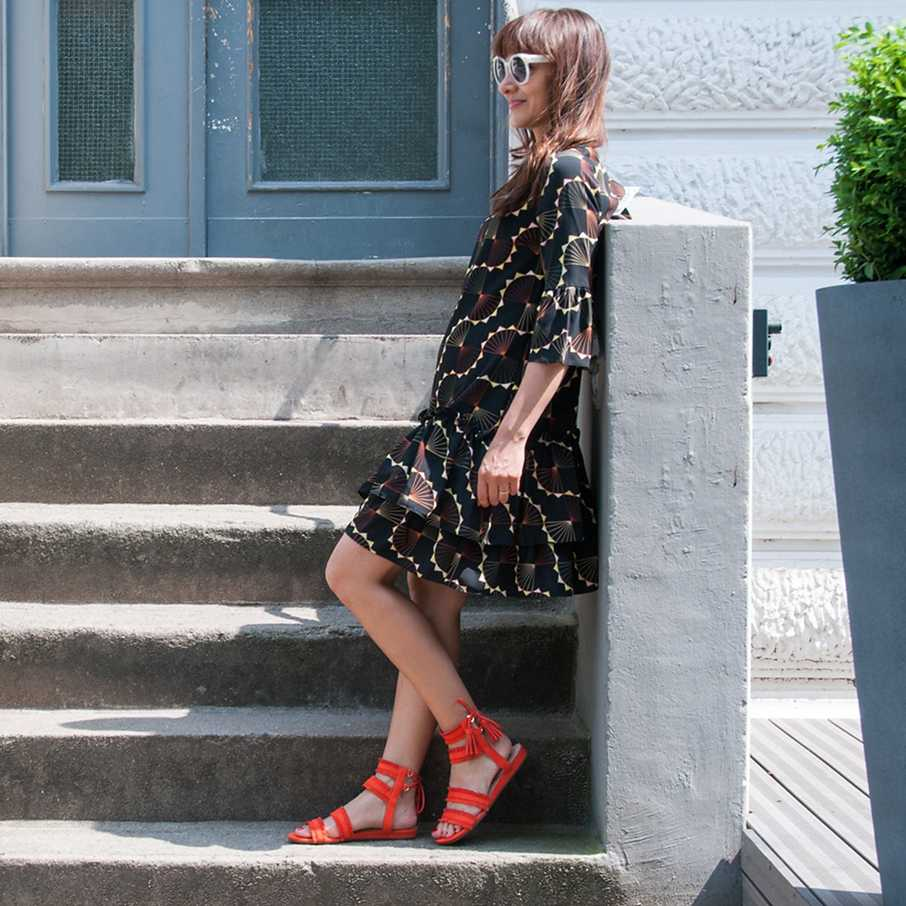 Sandale, Two for Fashion,  Outfit, Looks, Streetstyles