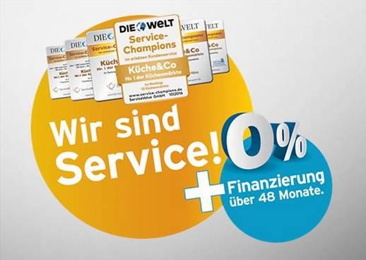 100% Service und 0% Finanzierung