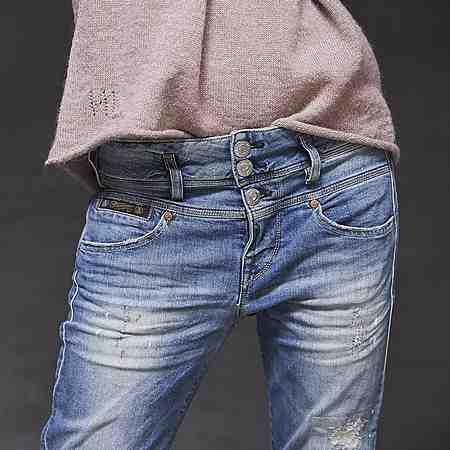 Damen: Jeans: Boyfriend-Jeans