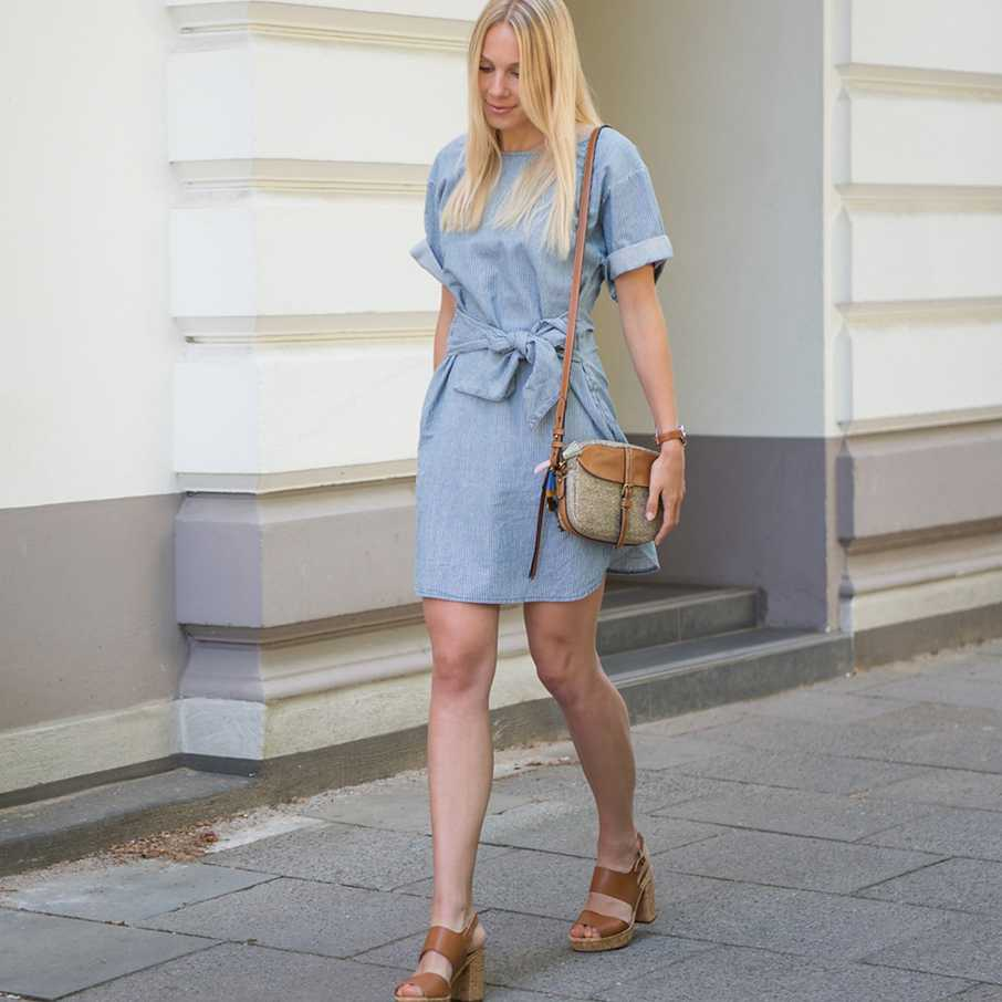 Jeanskleid, Two for Fashion,  Outfit, Looks, Streetstyles