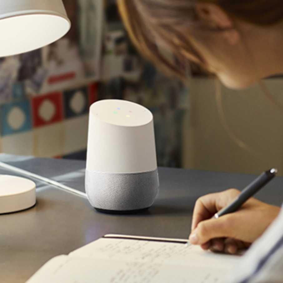Google Home : Antworten von Google erhalten