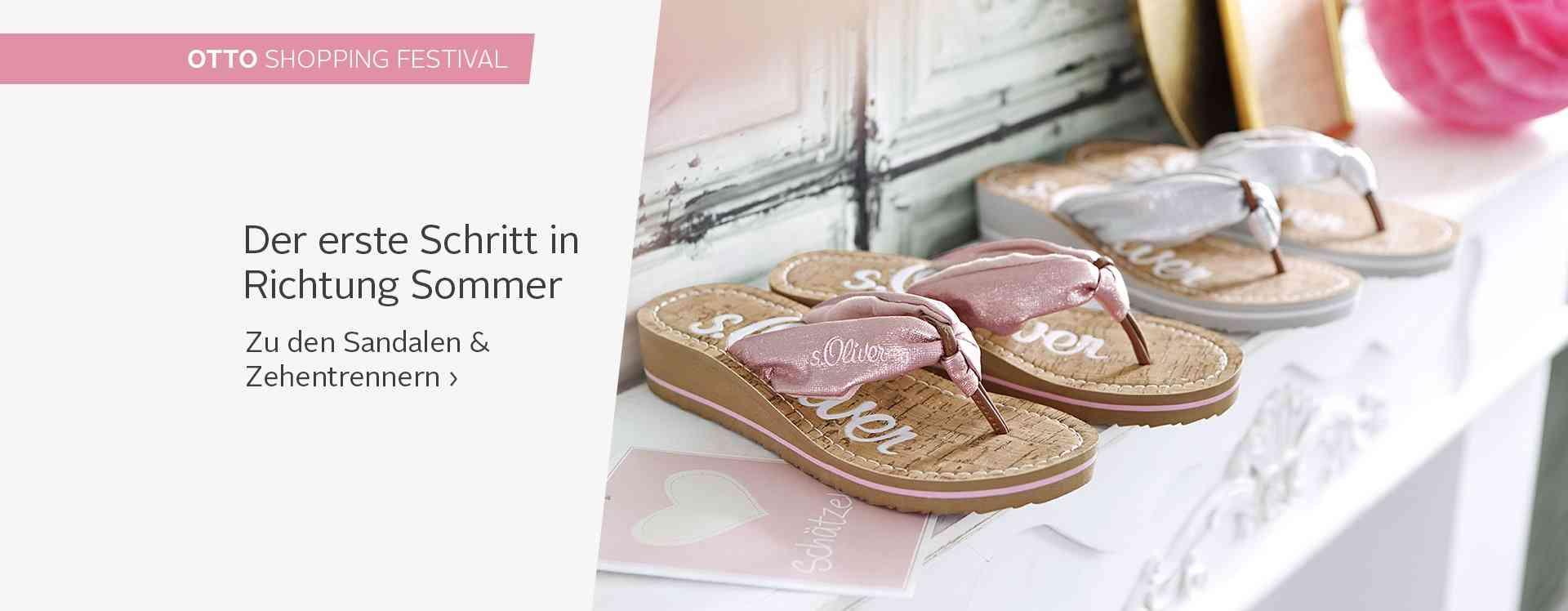 Zeigt her Eure Füße: Von leger bis elegant, aber immer feminin: Sandalen & Zehentrenner machen den Sommerlook perfekt.