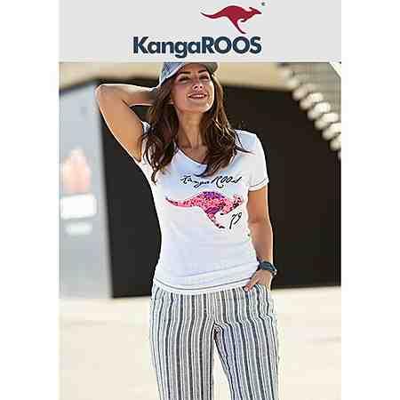 KangaROOS bietet lässige Mode für den Alltag. Hier finden Sie Sweatshirts, Jacken und Wäsche in großen Größen.