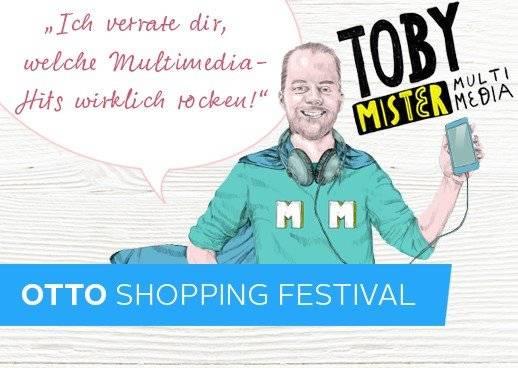 Service, Beratung, OTTO Shopping Festival, Мультимедиа