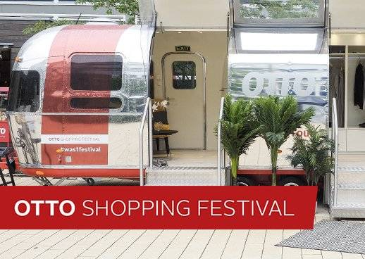 OTTO Shopping Festival Tourbus