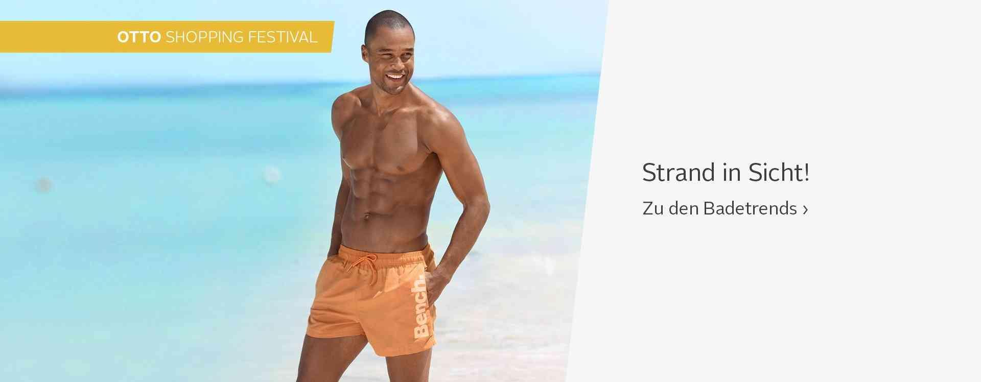 Herrenbademode die begeistert! Badeshorts oder Badehosen für Herren in stylischen Ausführungen und trendigen Farben & Formen. Jetzt entdecken!