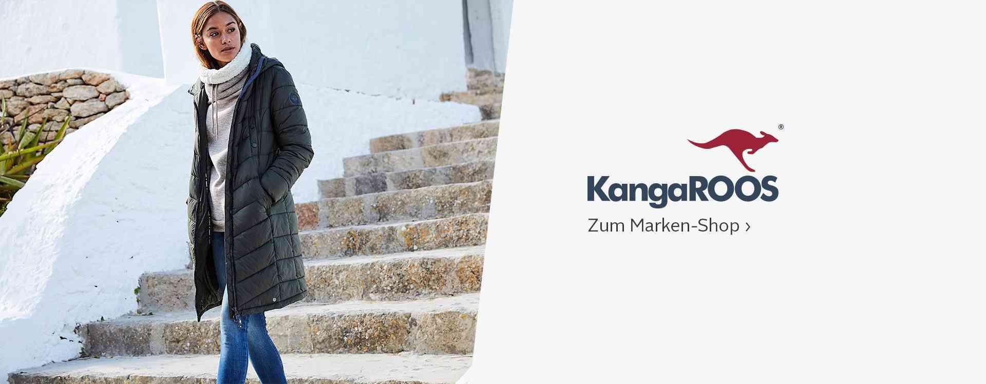 Der KangaROOS Markenshop - sportlich und lässige Mode im jungen Design!