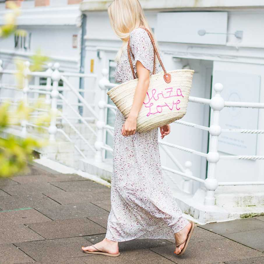 Two for Fashion,  Outfit, Looks, Streetstyles, Strandtasche
