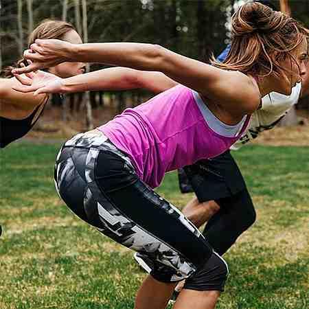 Mode: Damen: Sportbekleidung: Sporthosen