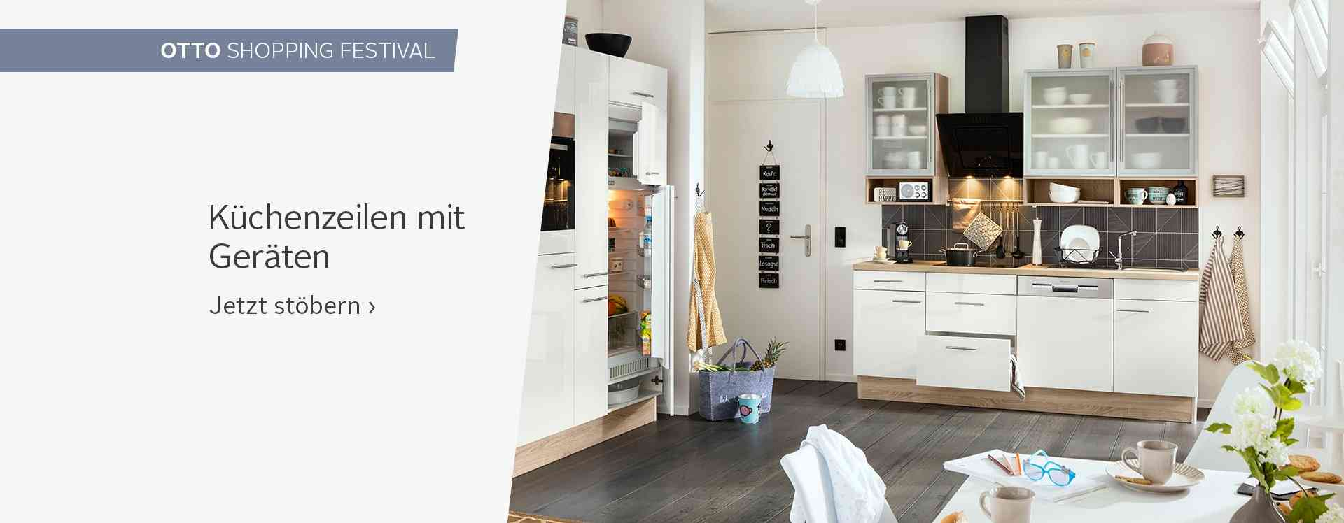 k cheneinrichtung online kaufen modern landhaus otto. Black Bedroom Furniture Sets. Home Design Ideas