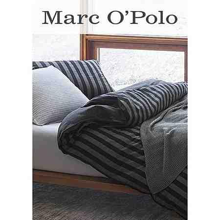Moderne und hochwertige Heimtextilien von Marc O'Polo Home für ein gemütliches zu Hause - von Bettwäsche und Bettlaken über Bademäntel und Handtücher bis zu Kissen und Wolldecken!