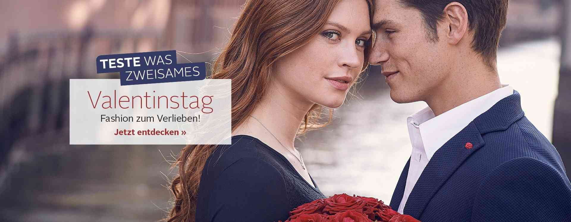 Valentinstagsmode: Mode zum Verlieben! Jetzt entdecken...