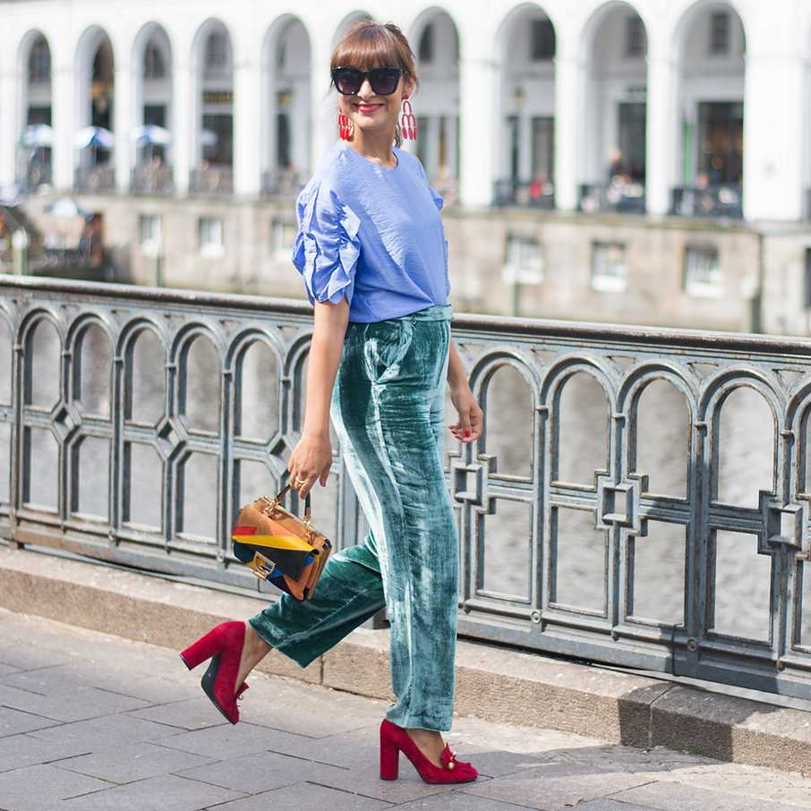 Two for Fashion,  Outfit, Looks, Streetstyles, Samt
