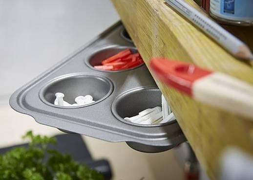 DIY Muffinform als Aufbewahrung