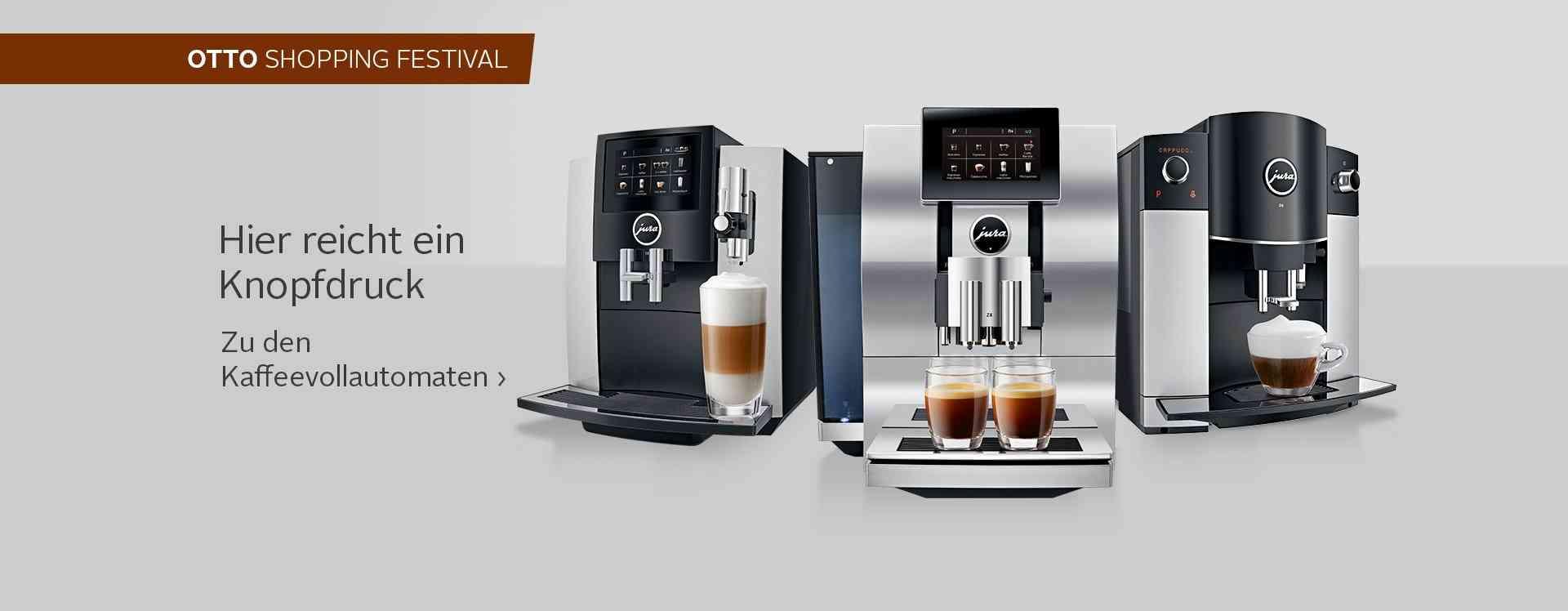 kaffeemaschine online kaufen kaffee espresso otto. Black Bedroom Furniture Sets. Home Design Ideas