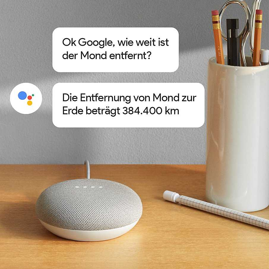 google home mini kaufen smarter lautsprecher f r wenig geld otto. Black Bedroom Furniture Sets. Home Design Ideas