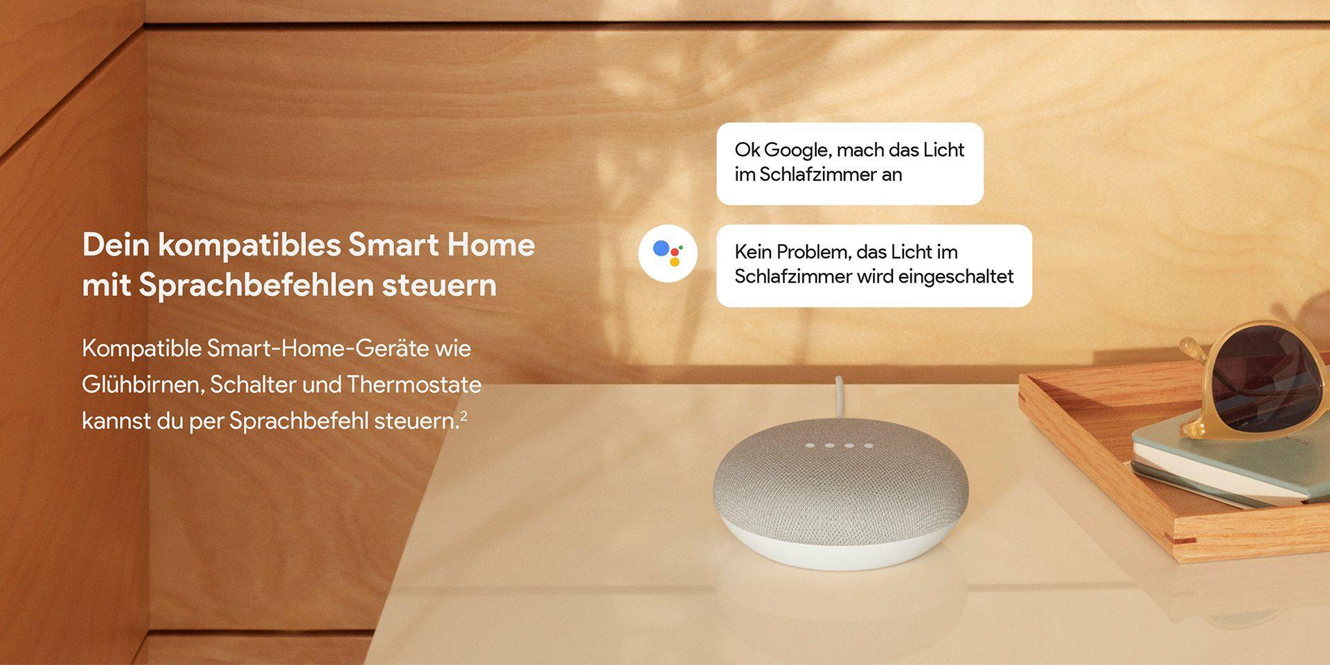google home mini kaufen smarter lautsprecher f r wenig. Black Bedroom Furniture Sets. Home Design Ideas