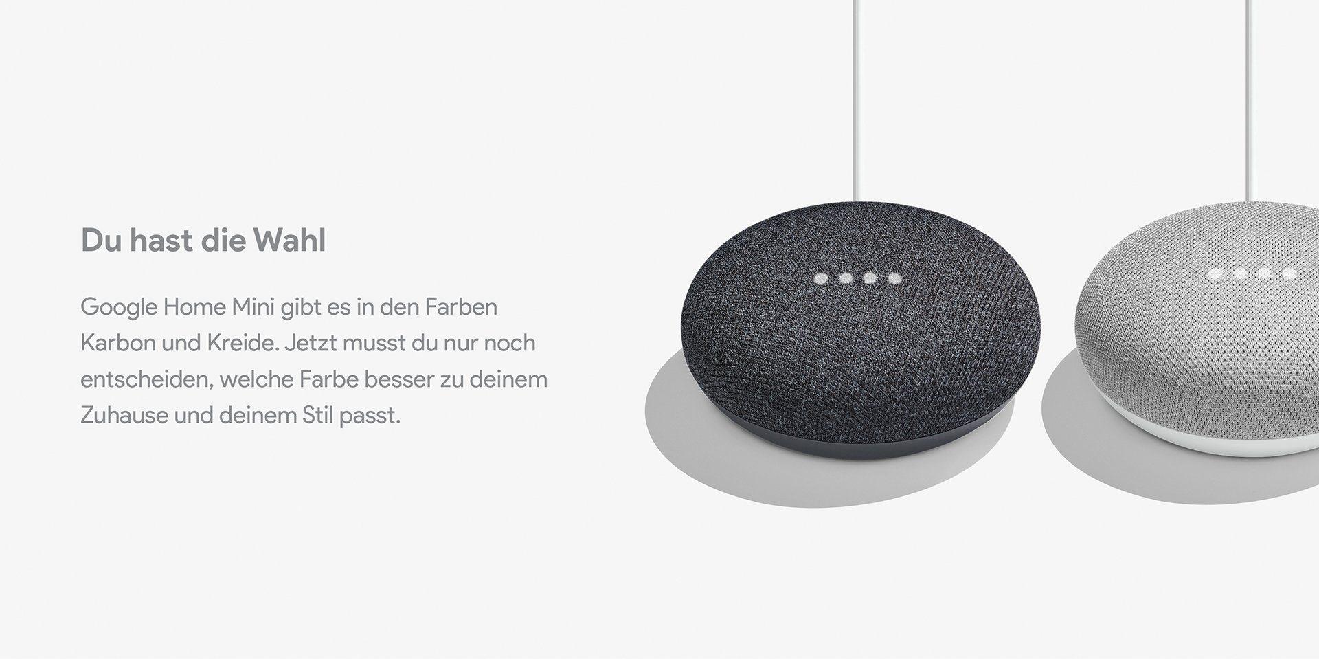 google home mini kaufen smarter lautsprecher f r wenig geld otto. Black Bedroom Furniture Sets. Home Design Ideas