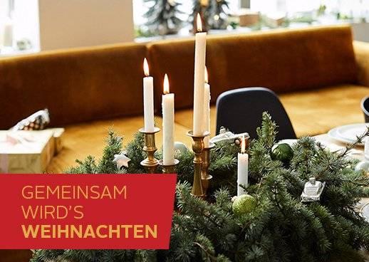 So kommen Sie in Weihnachtsstimmung
