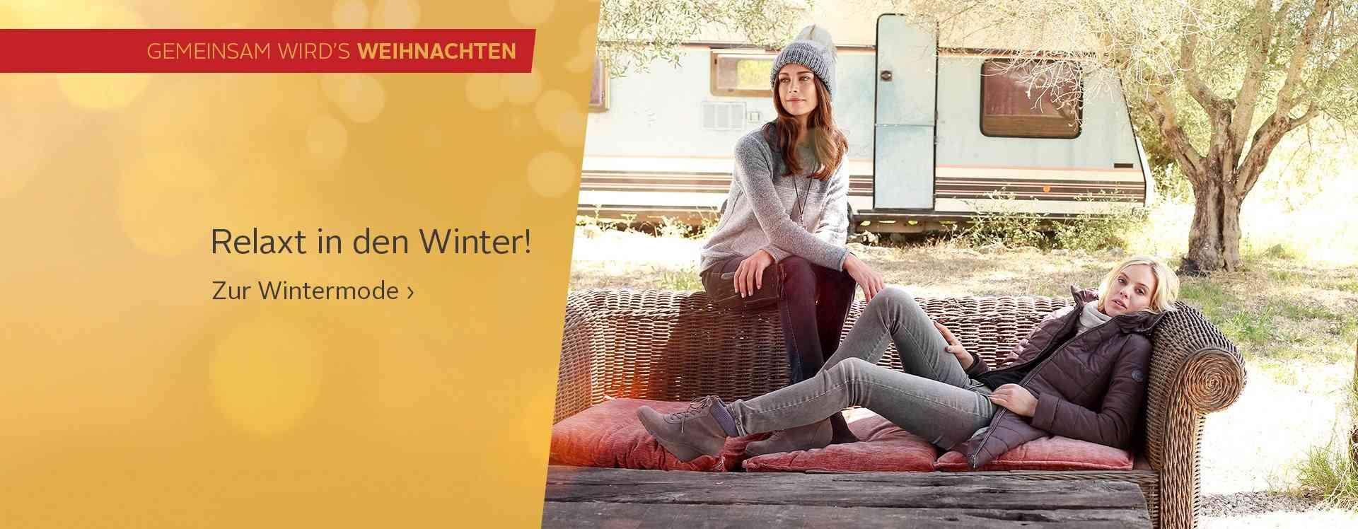 Damen-Wintermode: Entdecken Sie сейчас gut kombinierbare Winter-Styles...