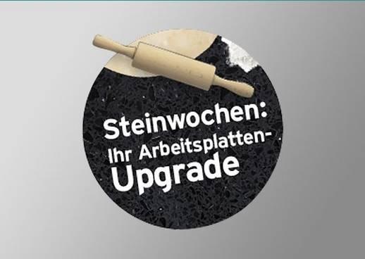 Arbeitsplatten Upgrade Steinwochen