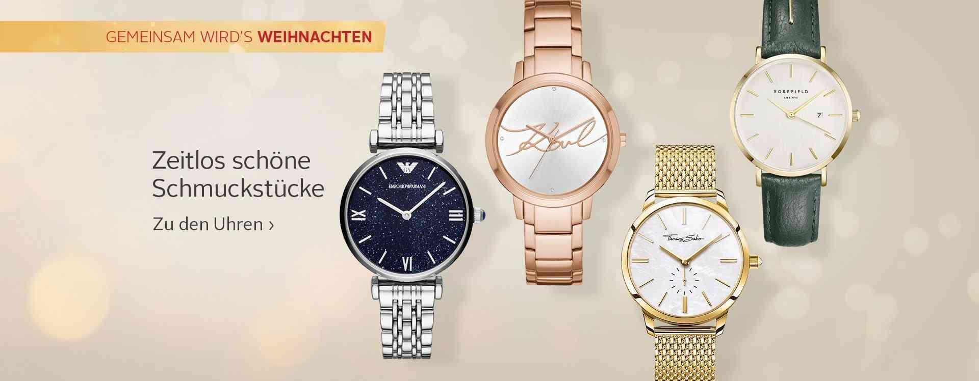 Mit diesen Armbanduhren ist es für den perfekten Look nie zu spät.