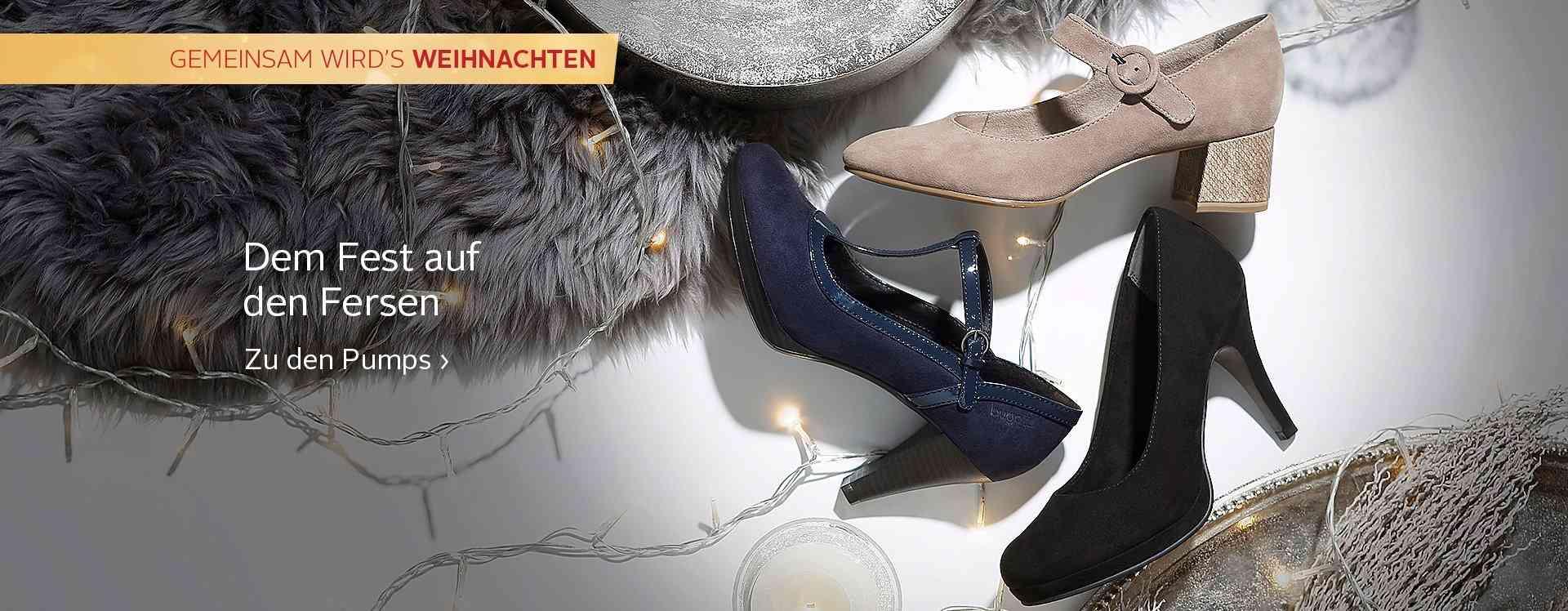 Schritt für Schritt im Trend: Ob für's Büro oder für die nächste Party, stylische Pumps von OTTO kann man nie genug haben!