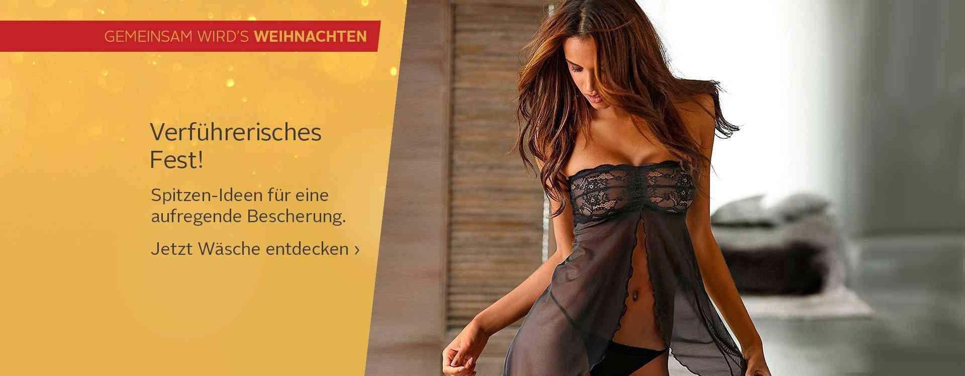 Dessous auf otto.de - Reizwäsche, Spitzen-BHs für verführerische Momente. Dessous dürfen an einem romantischen Abend nicht fehlen und gehören in den Kleiderschrank einer jeden Frau.