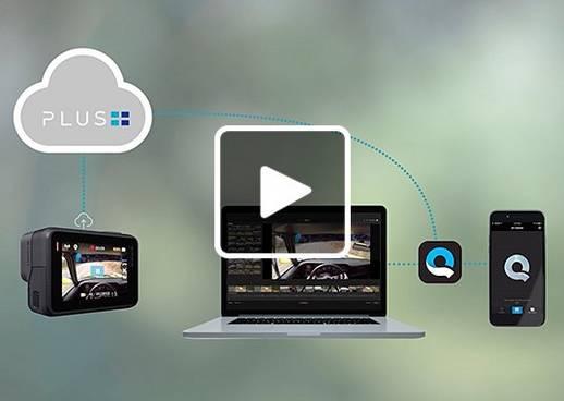 Einfach über die GoPro Plus App Videos und Bilder hochladen