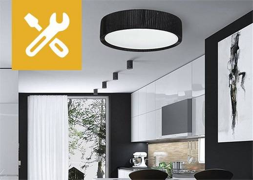 Lampen-Montage für Deckenleuchten und Wandleuchten