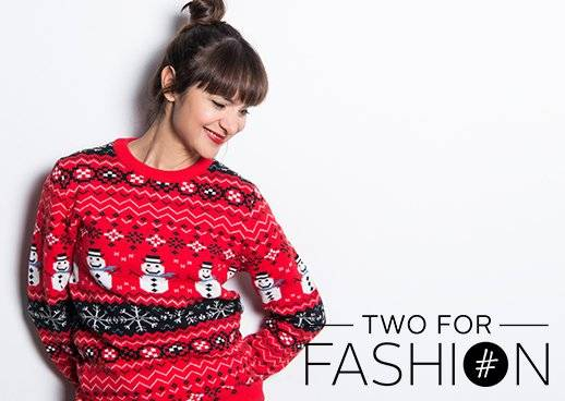 Ugly Christmas Sweater Rot Weihnachtsmann