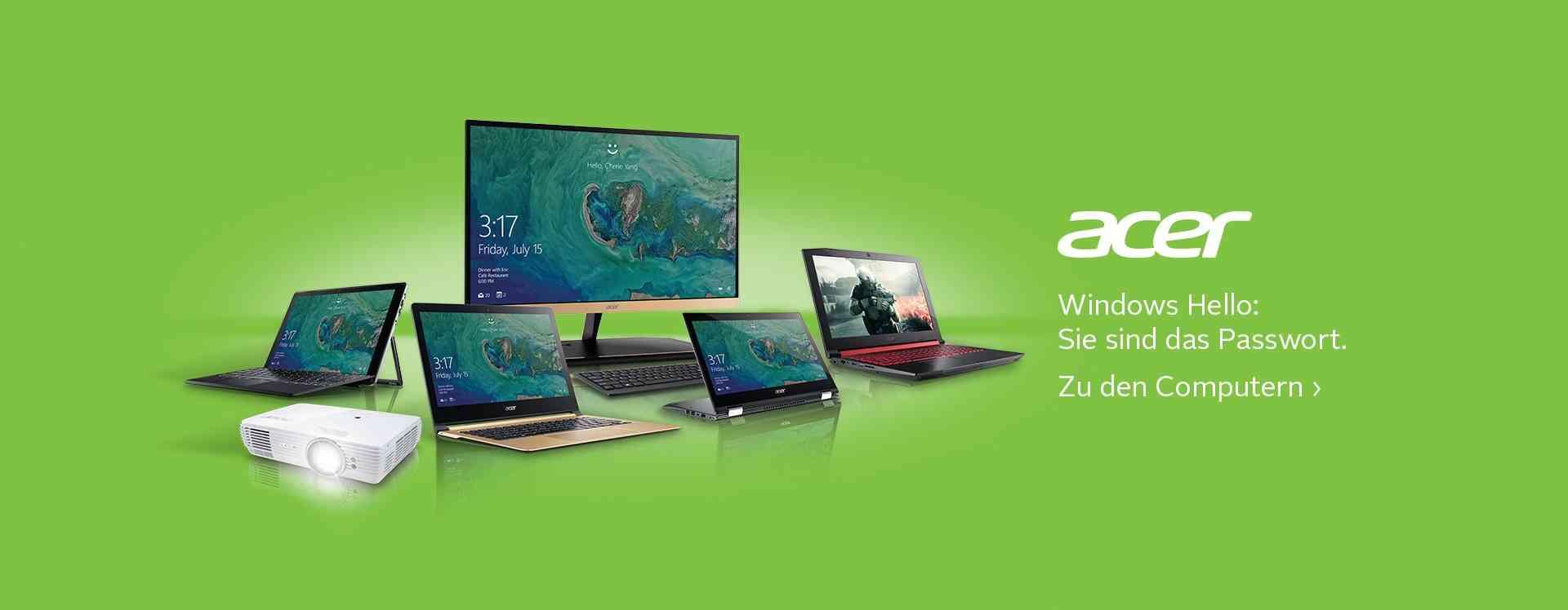 Acer Shop: Elegantes Design trifft auf schnelle Performance