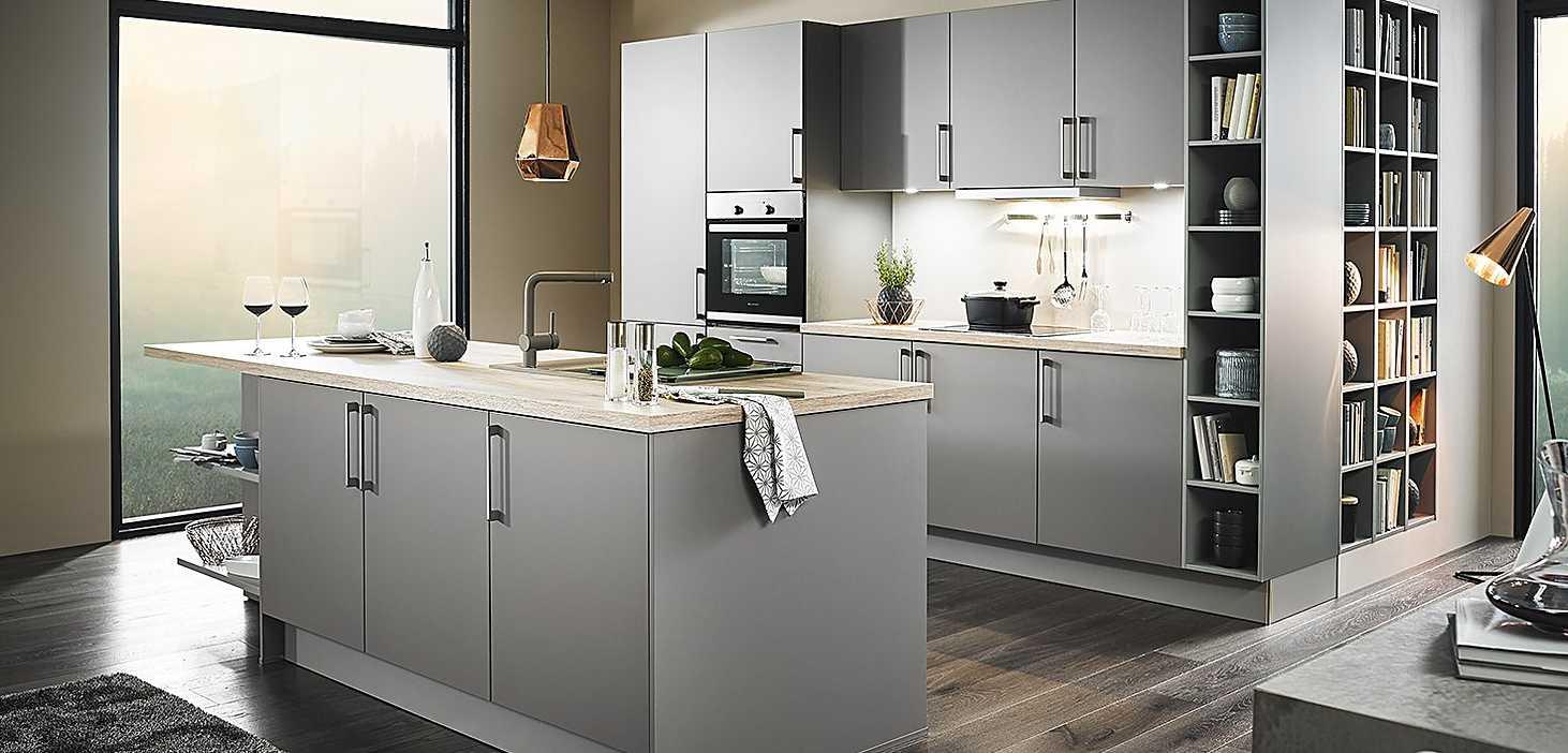 Classicküche Dusty Colours in Grau
