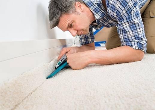Beratung: Teppich verlegen