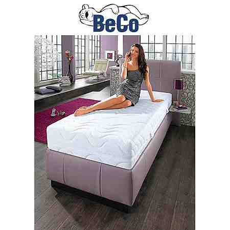 Für einen gesunden Schlaf: Matratzen und Lattenroste für jeden Anspruch ebenso wie warme oder dünne Bettdecken für jede Jahreszeit und jede Anforderung von Beco!