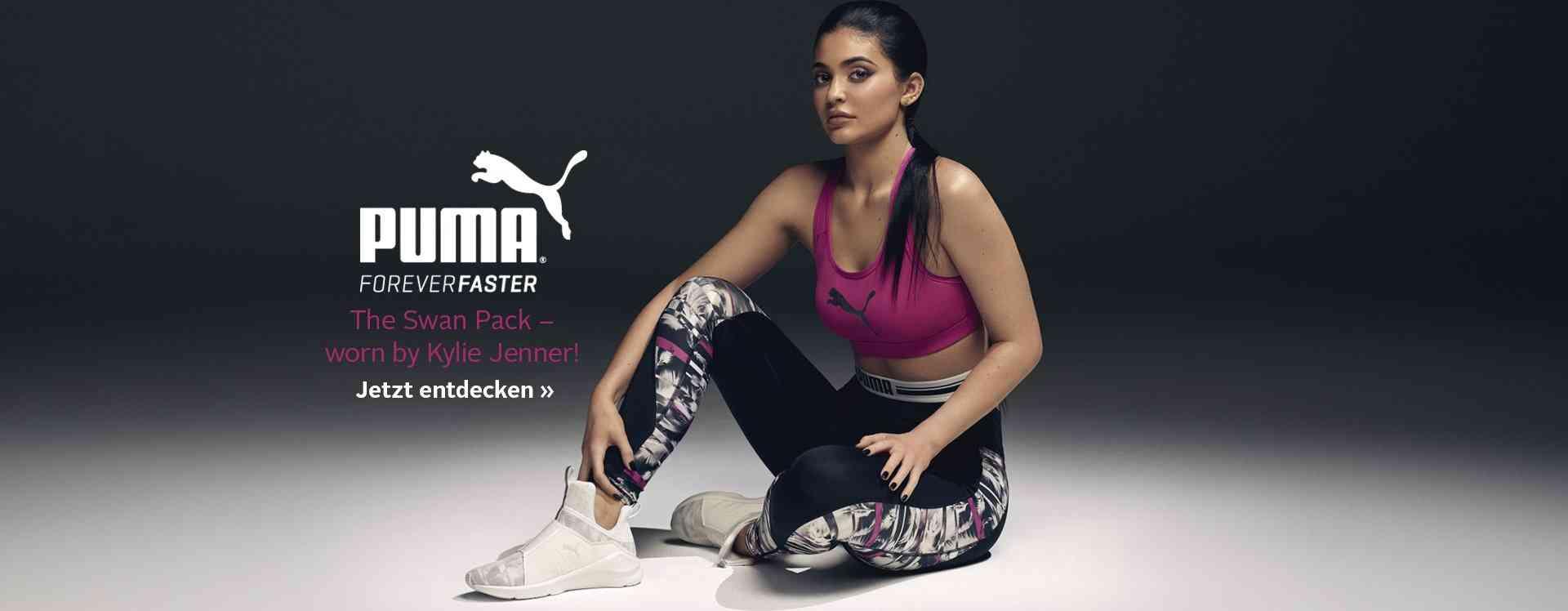 PUMA, immer im Trend! Eine große Auswahl an Sport- und Lifestyle Mode und Schuhen von PUMA finden Sie in unserem PUMA Shop