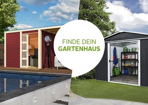 Gartenhaus Produktfinder