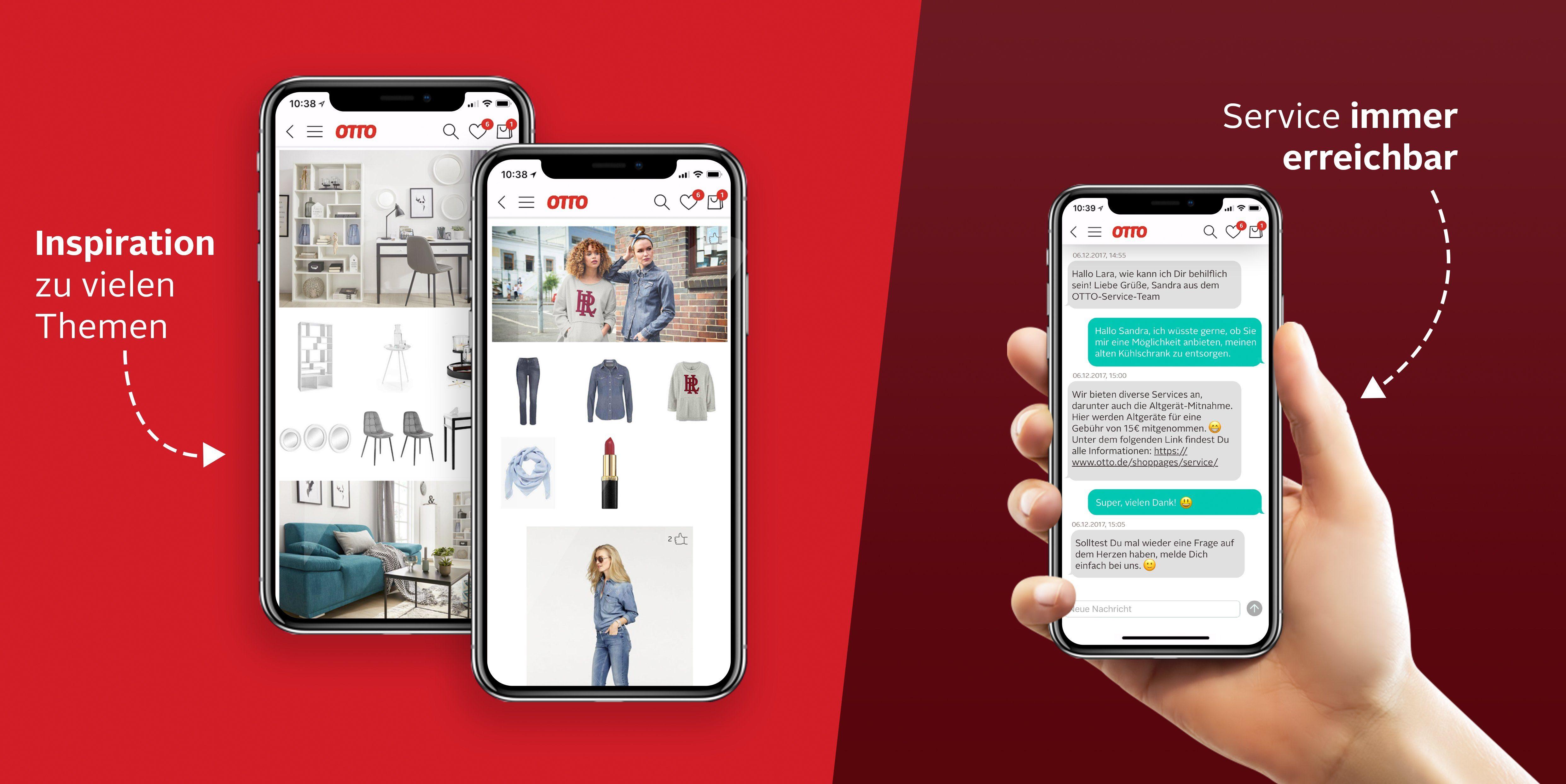 OTTO-App Inspiration & Service
