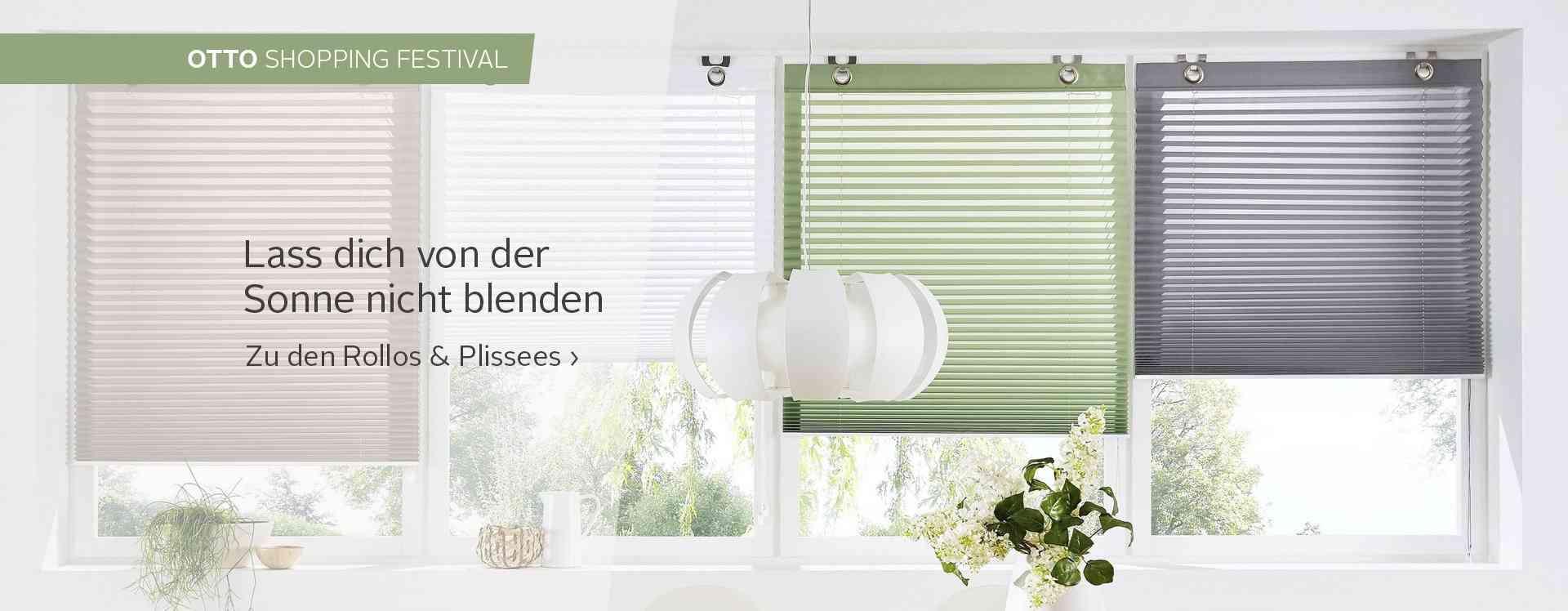 Rollos & Jalousien sind praktisch und dekorativ, dienen als Blickschutz oder Verdunklung und schaffen eine schöne und wohnliche Optik an jedem Fenster.
