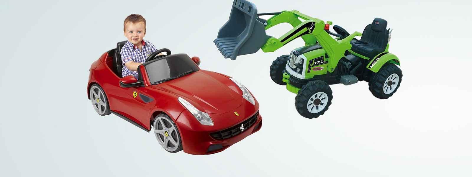Kinder-Elektrofahrzeug